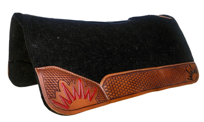 felt saddle pads western