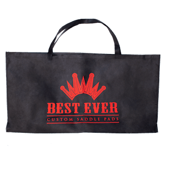 Best Ever Team Gear Saddle Pad Tote Bag